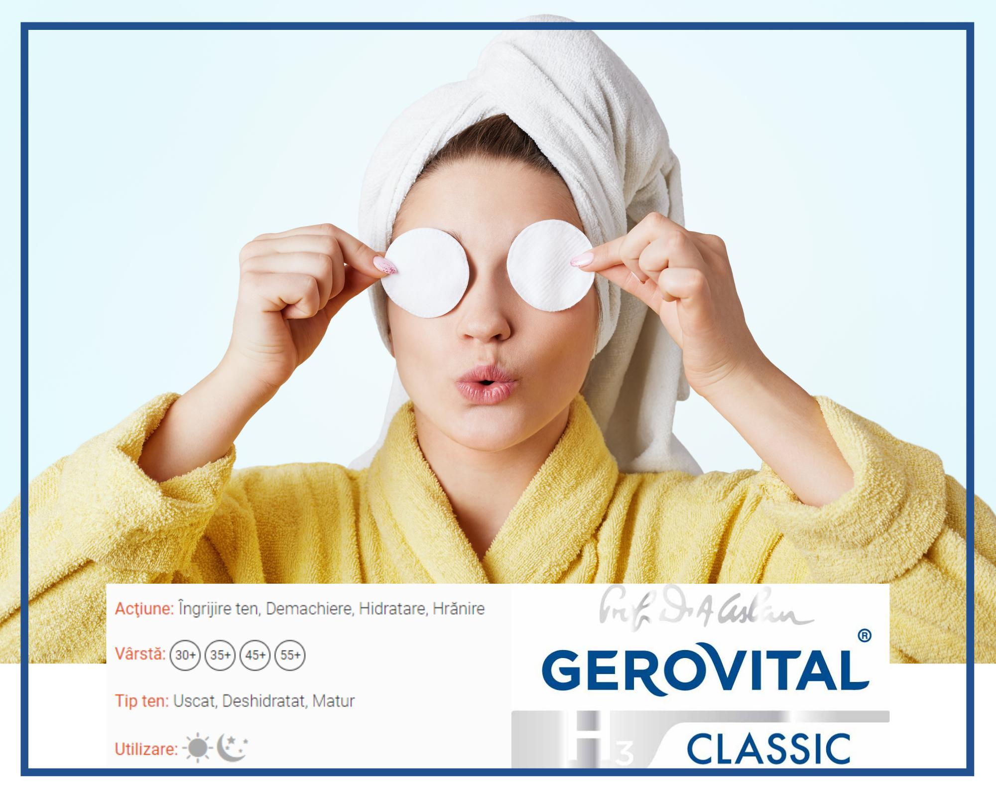 gerovital h3 classic demachiere