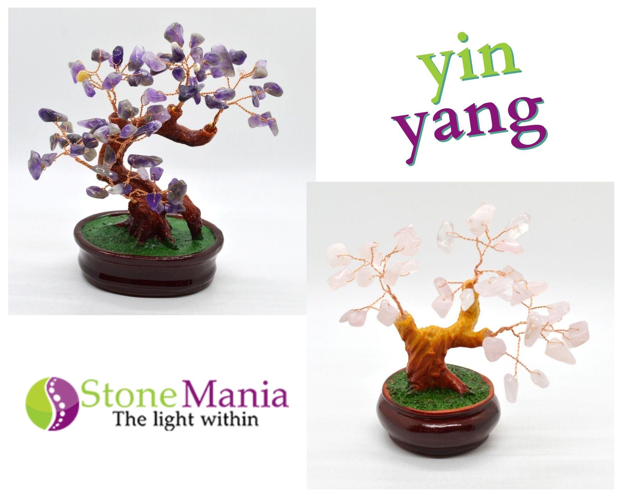 yin yang cristale