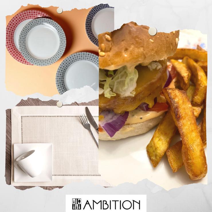 Articole pentru servirea mesei Ambition