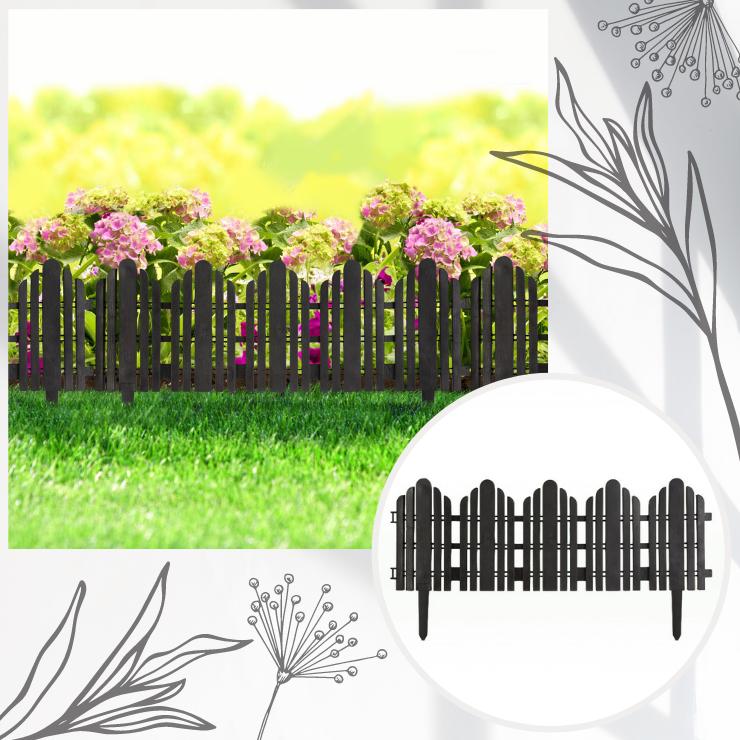 Bordura pentru rondul de flori