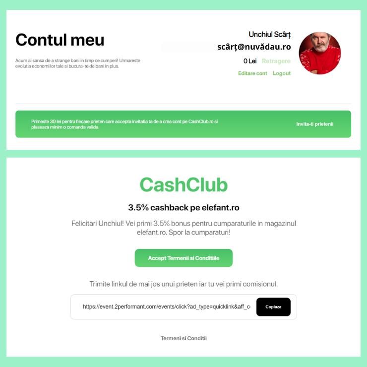 referral link cashclub