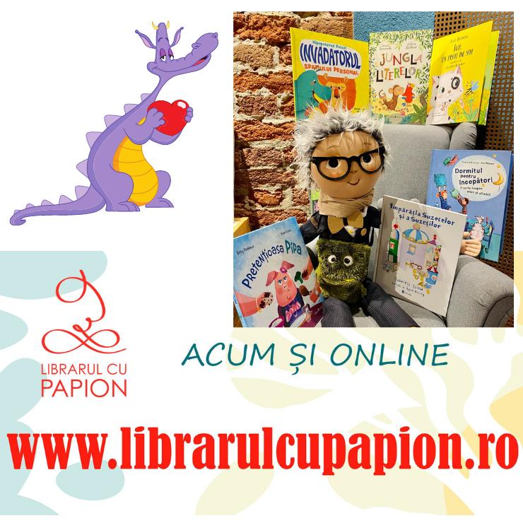 Cărți pentru copii la Librarul cu Papion