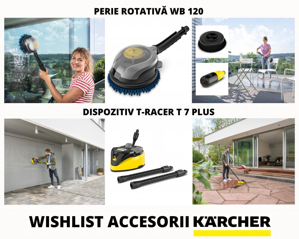 Wishlist accesorii Karcher pentru curatenia care conteaza